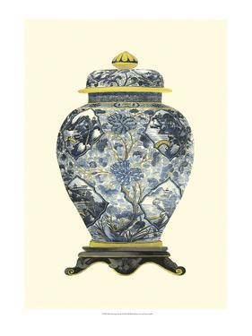 Blue Porcelain Vase II by Vision Studio