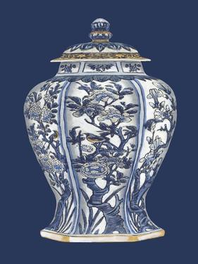 Blue & White Porcelain Vase I by Vision Studio