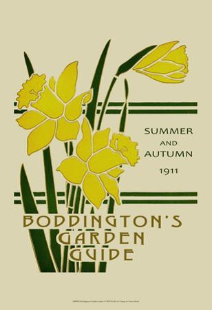 Boddington's Garden Guide I by Vision Studio