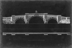 Bridge Schematic III by Vision Studio