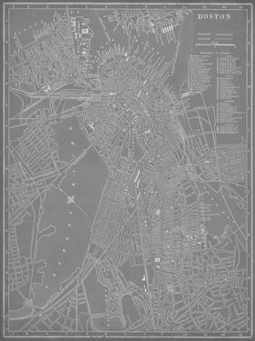 City Map of Boston by Vision Studio