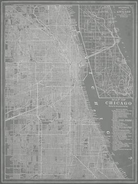 City Map of Chicago by Vision Studio