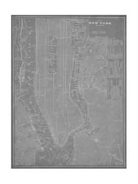 City Map of New York by Vision Studio