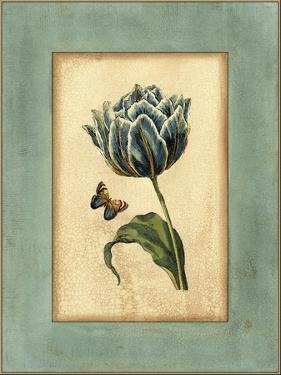 Crackled Spa Blue Tulip IV by Vision Studio
