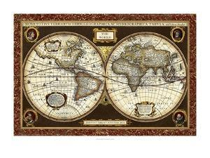 Decorative World Map by Vision Studio