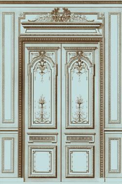 French Salon Doors I by Vision Studio