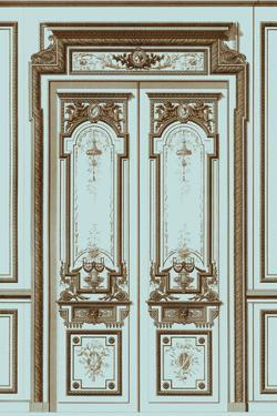 French Salon Doors II by Vision Studio