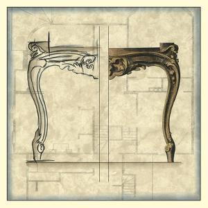 Furniture Sketch I by Vision Studio