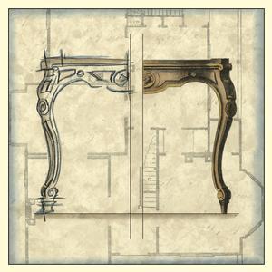 Furniture Sketch II by Vision Studio