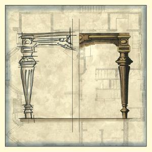 Furniture Sketch III by Vision Studio