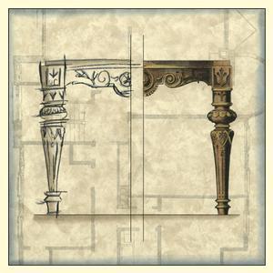 Furniture Sketch IV by Vision Studio