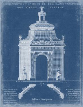 Garden Treillage Blueprint I by Vision Studio