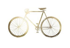 Gold Foil Bicycle by Vision Studio