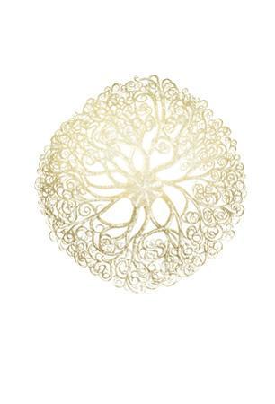 Gold Foil Ocean Gems I by Vision Studio