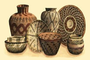 Hand Woven Baskets VI by Vision Studio