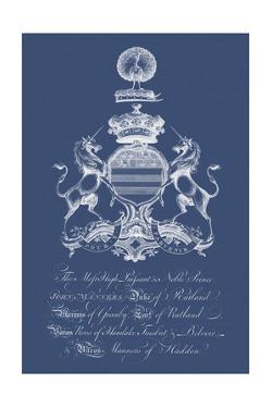 Heraldry on Navy III by Vision Studio