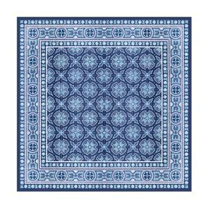 Italian Mosaic in Blue I by Vision Studio