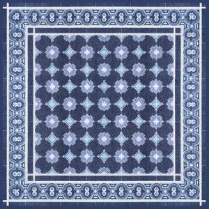 Italian Mosaic in Blue II by Vision Studio