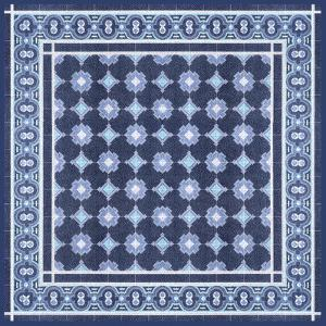 Italian Mosaic in Blue II by Vision Studio