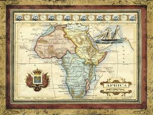 Map of Africa by Vision Studio