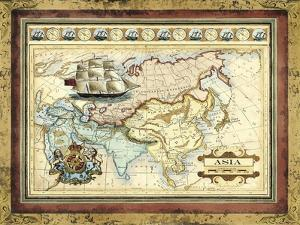 Map of Asia by Vision Studio