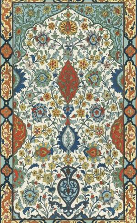 Non-Embellish Persian Ornament I by Vision Studio