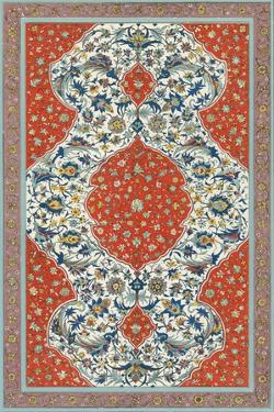 Non-Embellish Persian Ornament II by Vision Studio