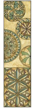 Non-Embellsh.Stained Glass Panel II by Vision Studio