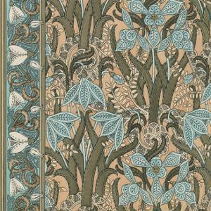 Nouveau Textile Motif I by Vision Studio
