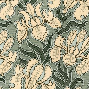 Nouveau Textile Motif II by Vision Studio