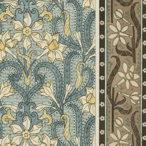 Nouveau Textile Motif III by Vision Studio