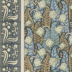 Nouveau Textile Motif IV by Vision Studio