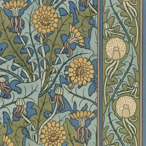 Nouveau Textile Motif IX by Vision Studio