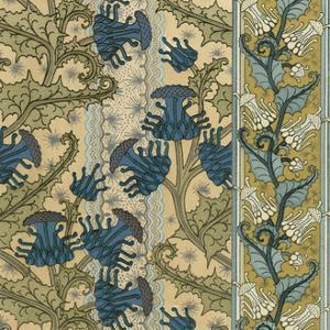 Nouveau Textile Motif VI by Vision Studio