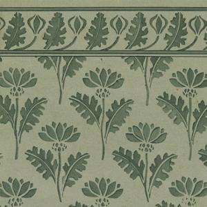 Nouveau Textile Motif VII by Vision Studio