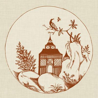 Ornamental Pagoda I by Vision Studio