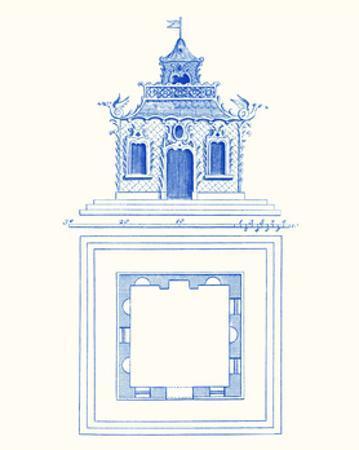 Pagoda Design I by Vision Studio