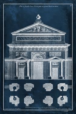 Palace Facade Blueprint I by Vision Studio