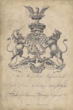 Peerage of England II by Vision Studio