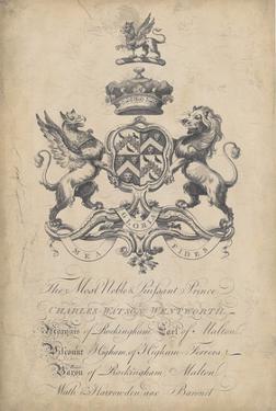 Peerage of England VI by Vision Studio
