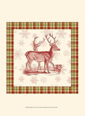 Reindeer Toile I by Vision Studio
