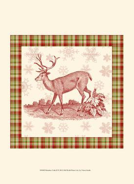 Reindeer Toile II by Vision Studio