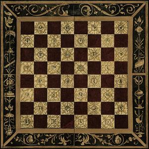 Small Antique Gameboard I by Vision Studio