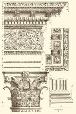 Small Corinthian Detail V by Vision Studio