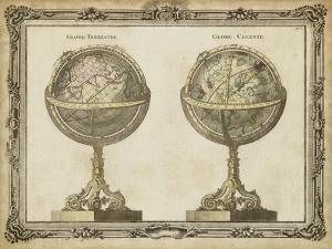 Terrestrial and Celestial Globes by Vision Studio