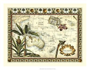 Tropical Map of East Indies by Vision Studio