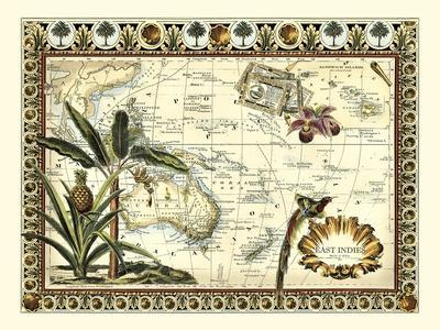 Tropical Map of East Indies
