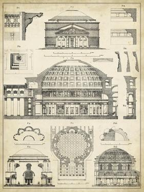 Architectural plans renderings posters at for Famous building blueprints
