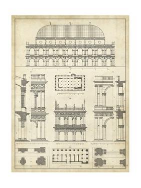 Vintage Architect's Plan IV by Vision Studio