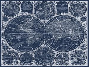 World Globes Blueprint by Vision Studio